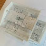 松本市 H様邸 ( '14.3竣工予定) 内観