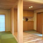 玄関 和室