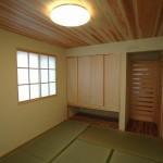 畳の良い香りのする和室