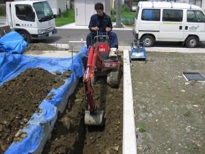 設備用掘削
