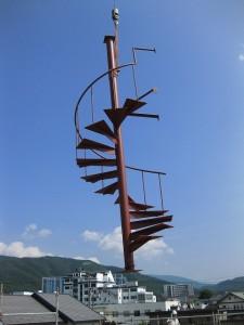 空飛ぶ螺旋階段
