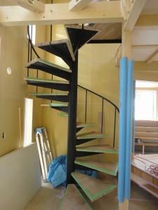 螺旋階段の踏み板