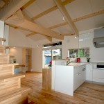 06 作業性のよいL型キッチン