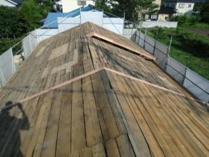 屋根補強完了