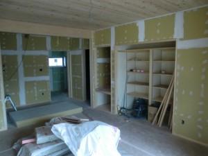 木工事完了