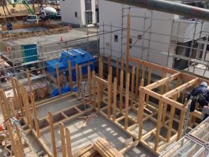 1階柱と小屋