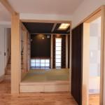 7寸角大黒柱のある和室