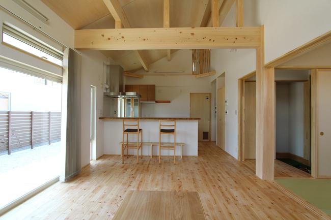 平屋+納戸のシンプルな住まい