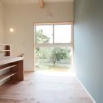 2階マルチスペース : サンルームのように使え、家族のコミュニケーション空間にも