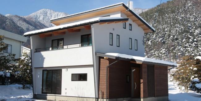 安曇野市で住宅建築
