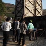 韮山反射炉_ガイドさんに説明してもらいました