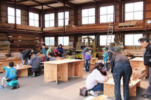 木工教室の様子2016