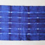 藍染体験_04 : 乾くと深い藍色になります