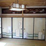 リフォーム前-和室2(欄間)