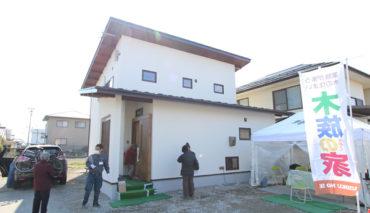 安曇野市豊科の新築住宅 完成見学会を開催しました 2019.3.2-4
