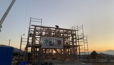 松本市里山辺 Y様邸 建て方