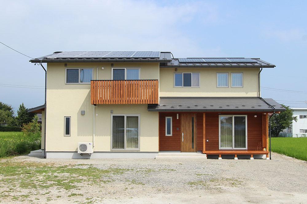 LDKがふたつある、なかよし家族の二世帯住宅