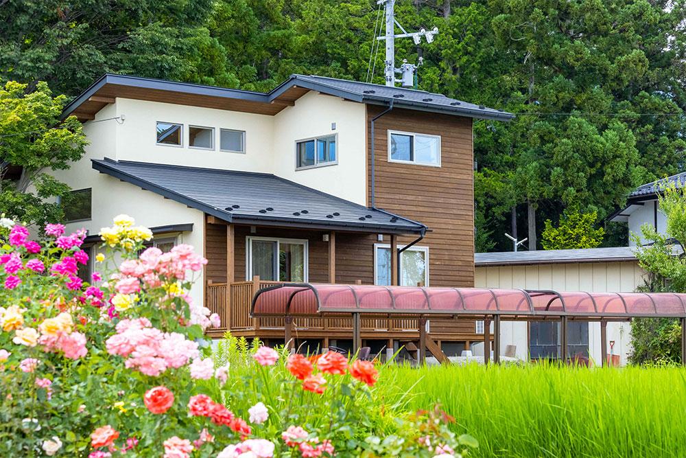60歳からの家づくり ―日常に自然を呼びこむゆとりの家―