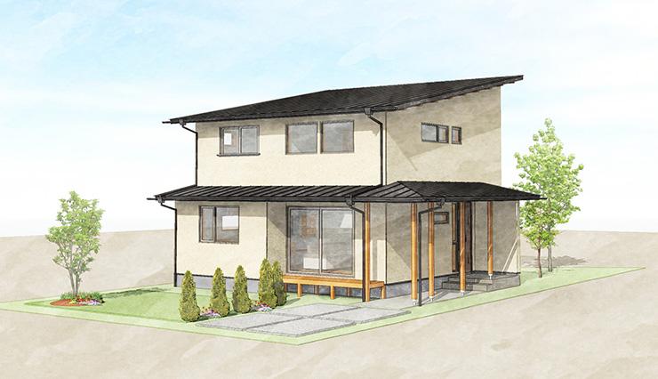 【予約制|完成見学会】9/11~13 松本市里山辺『生活のリズムを快適にするちょうどいい大きさの家』