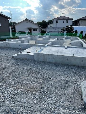 松本市神田 K様邸   基礎工事完了
