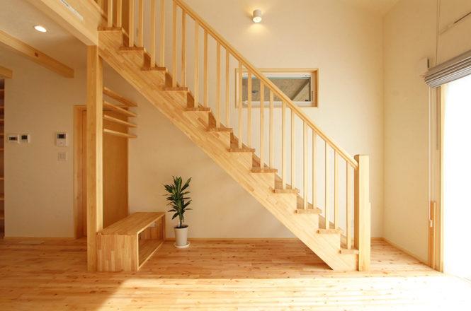 LDKのスケルトン階段